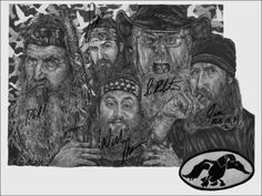 autographed print of my drawing :) they actually signed it :)