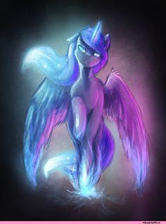 Princess Luna,mlp art