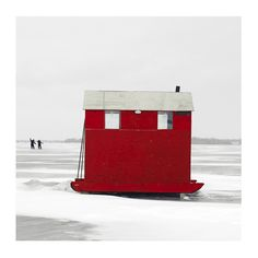 Ice Hut # 247, Lake Scugog, Ontario, Canada, 2010 | © 2007-2016 Richard Johnson Photography Inc. | richardjohnsongallery.com