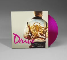 Drive movie soundtrack vinyl record. For creative vinyl designs and vinyl replication, visit www.unifiedmanufacturing.com