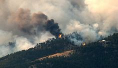 Fourmile Canyon Fire, Boulder Colorado area Sept 2010. (started while I was in Rocky Mountain National Forest about 45 miles away)