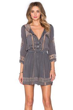 Tularosa x REVOLVE Orsen Dress in Charcoal   REVOLVE
