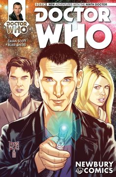 Sneak Peek: Doctor Who: Ninth Doctor #1 Newbury Comics Store Variant Cover Cover by artist Blair Shedd For more information visit Newbury Comics here For more information about Doctor Who: Ninth...