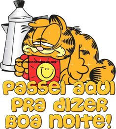 Garfield com sono Garfield Cartoon, Garfield And Odie, Friends Like Family, Betty Boop Pictures, Simple Words, Lisa Simpson, Good Night, Alice, Owl
