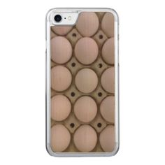 Many Eggs Carved iPhone 7 Case - click/tap to personalize and buy Unique Iphone Cases, Iphone 7 Cases, Iphone 8, Samsung Galaxy S4 Cases, Decorative Throw Pillows, Create Your Own, Eggs, Carving, Choices