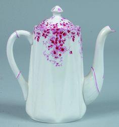 Shelley China Dainty Pink Teapot,