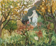 Henri Matisse (1869-1954) Le jardin de Renoir
