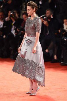 Kristen Stewart wears Chanel Haute Couture for Equals Premiere at Venice Film Festival