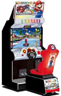 Mario Kart Arcade GP 2 DX Video Arcade Game From Namco