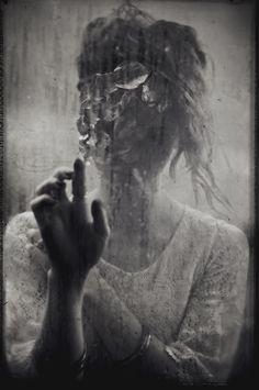 Fashion Editorial,Moody dark editorials, dark fashion, emotion, haunting, black and white, reflections, shadows