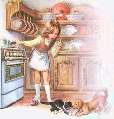 Жизнь детей в рисунках Марселя Марльера - Ярмарка Мастеров - ручная работа, handmade