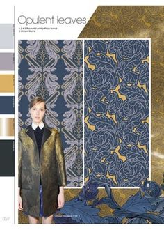 colors and material trend | A/W 14/15