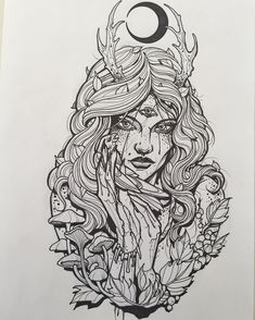 Sketches for tattoo Another collection of different sketches for future tattoos, for your tattoo master. In this collection you will find both masks of different fantastic creatures and just beautiful sketches Leg Tattoos, Arm Tattoo, Body Art Tattoos, Sleeve Tattoos, Tattoo Sketches, Tattoo Drawings, Art Drawings, Wicca Tattoo, Witchcraft Tattoos