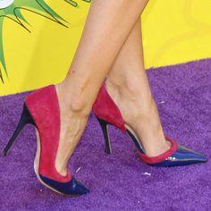 "Debby Ryan wearing Jean-Michel Cazabat ""Emmy"" pumps"