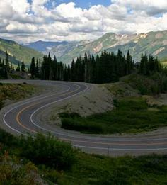 """US Route 550 - the """"Million Dollar Highway"""" - one of the most beautiful drives in the USA..."""