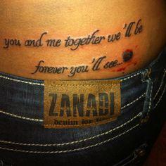 Love my new tattoo!!
