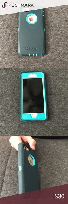 Iphone 6 otter box Slightly used otter box with 1 scrach but everything else is in perfect condition. OtterBox Accessories Phone Cases
