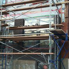 Pose de la brique Brick laying