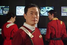 Captain Sulu - whose missions with USS Excelsior form the backdrop for the whole story.