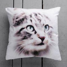 Cat Decorative Pillow Cover Handmade Velvet