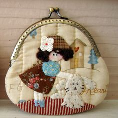 Marmalade: Applique purse