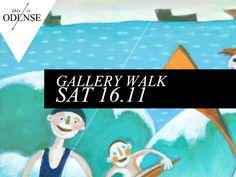 Gallerivandring Latinerkvarteret fra nye vinkler Læs anbefalingen på: www.thisisodense.dk/4058/gallerivandring #odense