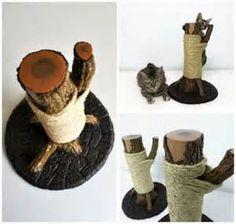 tronco rascador para gatos diy - Ecosia