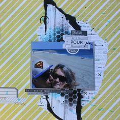 Scrapbooking Page : Avec toi pour toujours