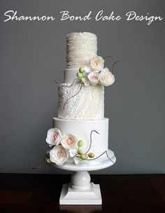 Shannon Bond Cake Design | Kansas City wedding and custom cakes | Wedding Cakes
