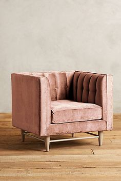 Slub Velvet Marryn Chair