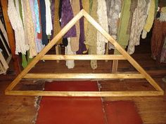 Výsledek obrázku pro tecnicas para tejer en telar triangular 150 por 150
