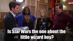 star wars parks and recreation parks and rec ron swanson 7x05 gryzzlbox
