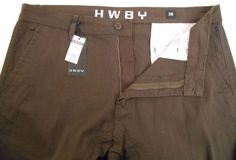 Mens Pants Jogger HW8Y Size 36 #HW8Y #CasualPants