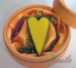 Náhrdelník Yellow heart  - Jaspravim.sk Fruit, Yellow, Heart, Food, Essen, Meals, Yemek, Hearts, Eten
