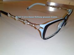 52a882c4ea2 Love these bling  Tiffany glasses frames spotted at my eye doctor s office.  Will visit