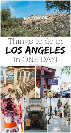 Ready to check out what Los Angeles has to offer? Whether you're staying for a week in LA or a day, here are some of the most popular things to do and see! Los Angeles Day Trips, Los Angeles Travel Guide, Los Angeles Vacation, Visit Los Angeles, Weekend In Los Angeles, Museums In Los Angeles, Downtown Los Angeles, California Vacation, Visit California