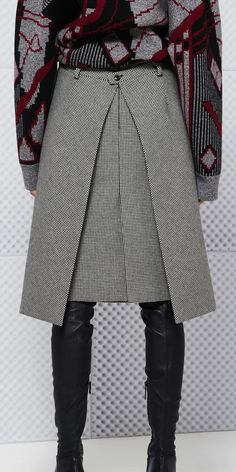 Discover the latest collection of Balenciaga Skirt for Women at the official online store. Look Fashion, Skirt Fashion, Womens Fashion, Fashion Design, Stylish Dresses For Girls, Moda Chic, Winter Skirt, Casual Winter Outfits, Casual Outfits