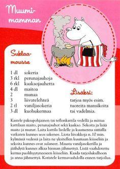 Muumimamman Suklaa-mousse