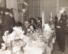 Looks like a family wedding--does anyone know whose?