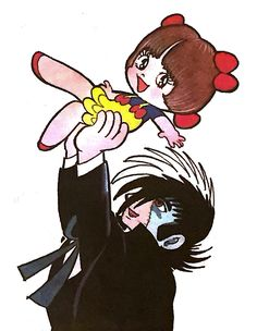 Black Jack and Pinocco Black Jack Anime, Jack Black, Manga Artist, Comic Artist, Metropolis Anime, Manga Mania, Miraculous Ladybug Fan Art, Astro Boy, Vintage Cartoon