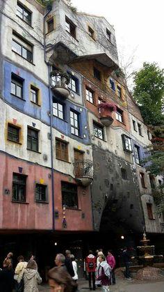 Hundertwasser House Wien Austria