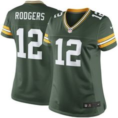 Nike Aaron Rodgers Green Bay Packers Women's The Limited Jersey - Green