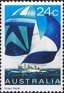 Postage Stamps 1981 Yachts Yachts Ocean Racer SG 833 Scott 816 Fine Mint  Other Australian Stamps HERE