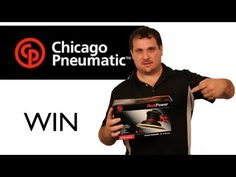 You Can Win The Chicago Pneumatic Sander Giveaway!