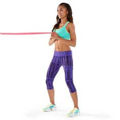 Sculpt Sexy Arms: The Resistance Band Workout~                              Anti-Rotation Press