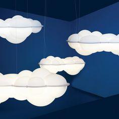 Nuvola pendant light Mario Bellini 1974. By Nemo