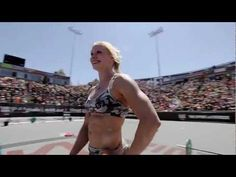"""love when she's like, """"my strategy? oh do everything unbroken and never fail"""" haha - unreal!! // 2012 CrossFit Games - The Champion, Annie Thorsdottir"""