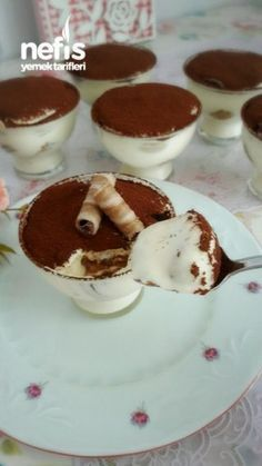 Tiramisu Kup (with Gorgeous Cream) - Delicious Recipes- Tiramisu Kup ( Muhteşem Kremasıyla ) – Nefis Yemek Tarifleri Tiramisu Mug (With Gorgeous Cream) - Cake Recipe Using Buttermilk, Tiramisu Cups, Mousse Au Chocolat Torte, Pasta Cake, Cake Recipes, Dessert Recipes, Tasty, Yummy Food, Delicious Recipes