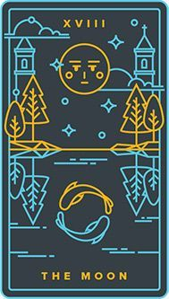 The Moon is a powerful symbol throughout any deck of Tarot cards! Discover what it means and the key cards that feature it here. Golden Thread Tarot, The Moon Tarot Card, Major Arcana Cards, Online Tarot, Trust Your Instincts, I Ching, Occult Art, Tarot Card Meanings, High Fantasy