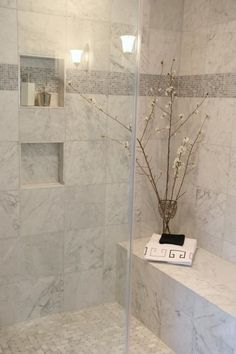 Charming Bathroom Shower Tile Ideas 34
